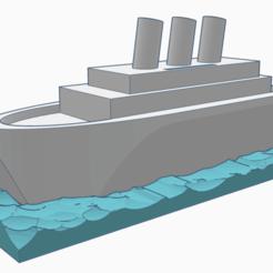 Perspektive.png Descargar archivo STL Banco de dinero del barco • Plan de la impresora 3D, napalmjoey