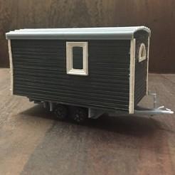 Download 3D printer templates Tiny House Trailer Maßstab 1:43, napalmjoey