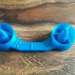 X9E blau.jpg Descargar archivo STL Taranis X9E Stick Protektor - Diseño de la hélice • Objeto para impresión 3D, napalmjoey