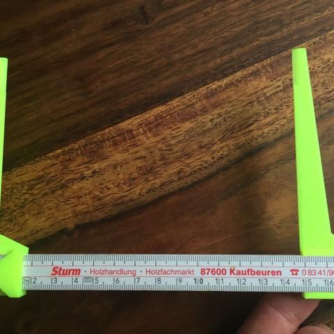 STL file caliper for meter rod, napalmjoey