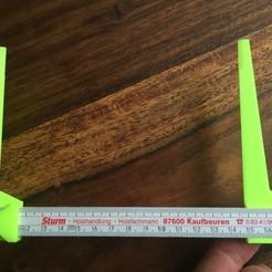 Télécharger fichier imprimante 3D étrier pour tige de compteur, napalmjoey