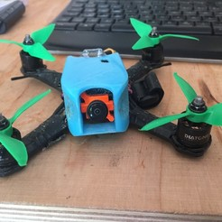 IMG_1068[1].JPG Download STL file Diatone GT2 150 Frame Cover - Runcam Micro Swift 2 • 3D printable template, napalmjoey