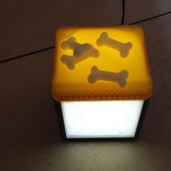 Télécharger fichier 3D lampe cube lithophane, napalmjoey