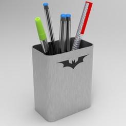 Download 3D printer designs DC pen holder Batman, ps42ws