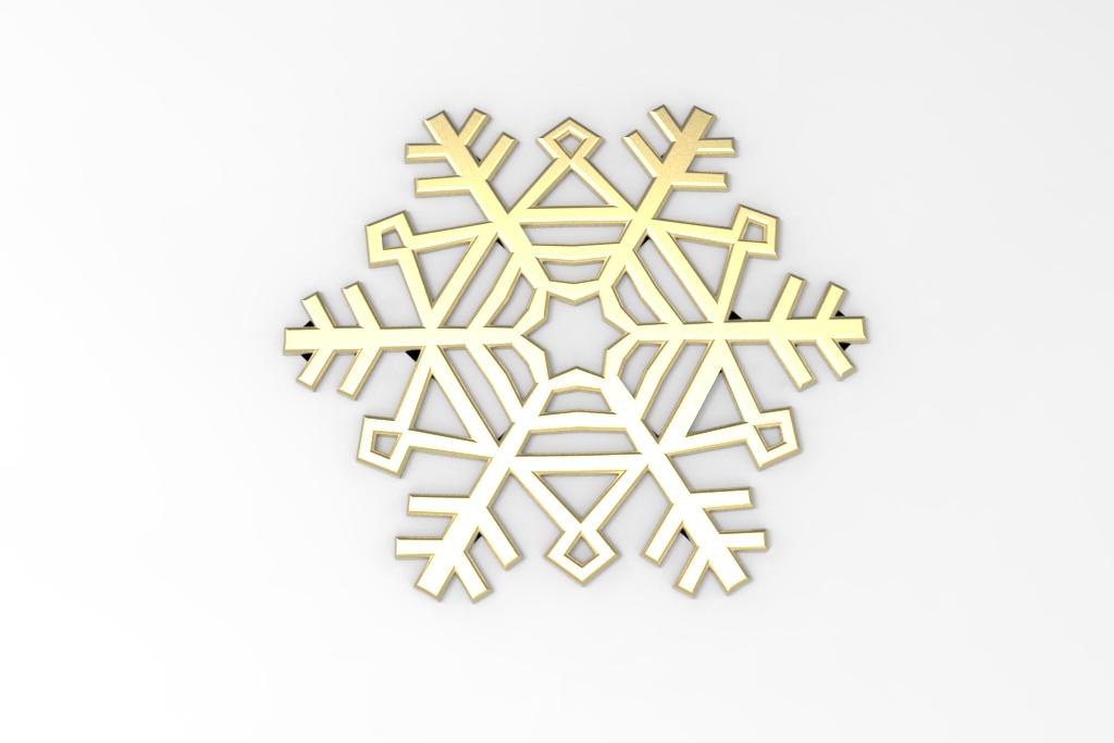 untitled.34.jpg Télécharger fichier STL gratuit Flocon de neige • Modèle imprimable en 3D, Mirson3Dprint