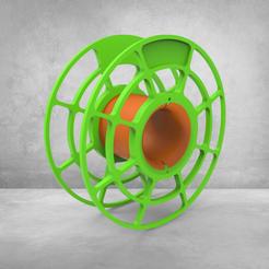 untitled.222.png Download STL file Spool • 3D print design, Mirson3Dprint