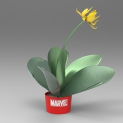 Download STL files Marvel flowerpot, ps42ws