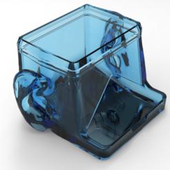 untitled.70.png Download STL file Ear sticks box • 3D print template, Mirson3Dprint