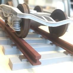 IMG_9715.JPG Télécharger fichier STL Bogie Y25 + chemin de fer • Plan à imprimer en 3D, Mirson3Dprint