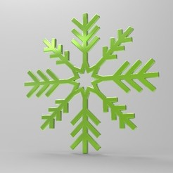 Download free 3D model Snowflake, ps42ws