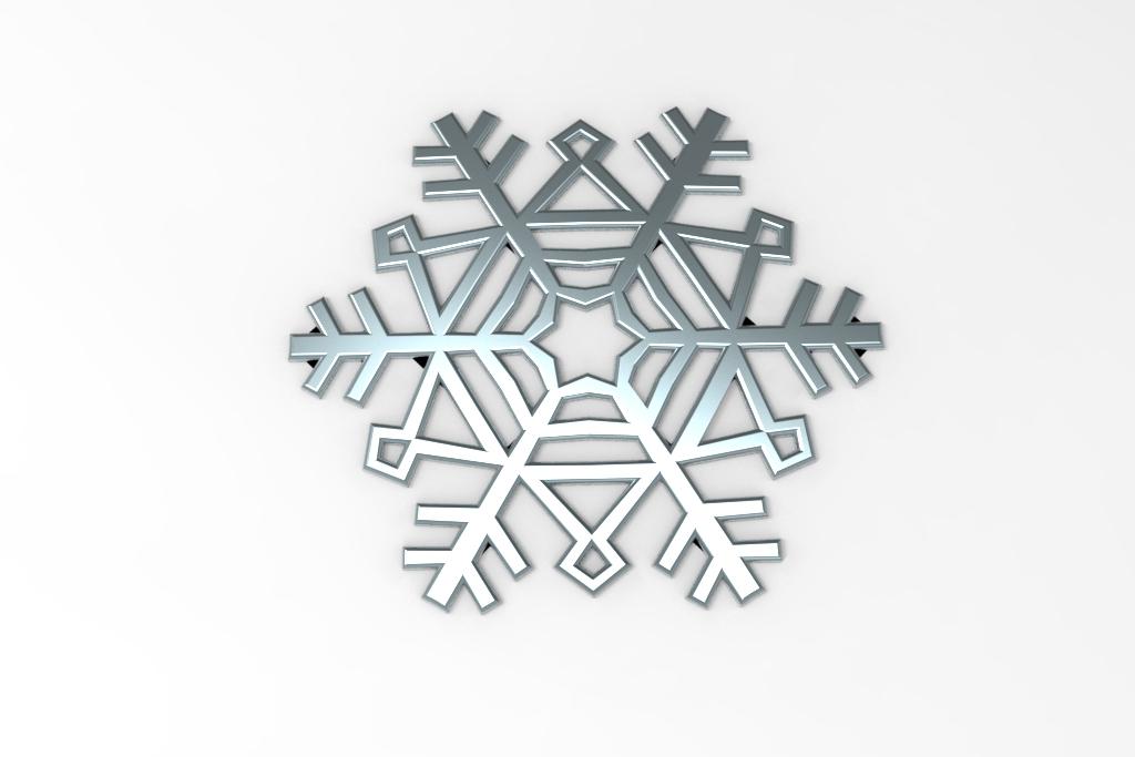 untitled.36.jpg Télécharger fichier STL gratuit Flocon de neige • Modèle imprimable en 3D, Mirson3Dprint