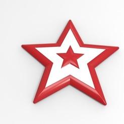 Télécharger fichier imprimante 3D étoile de Noël, ps42ws
