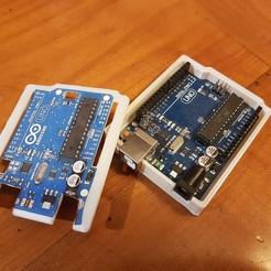 Impresiones 3D gratis Arduino Uno Snug Case, kaderius