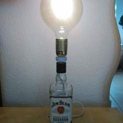 Imprimir en 3D Bottle Lamp Kit, edwinsantiago23