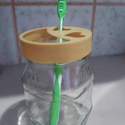 IMG_20200313_133609.jpg Télécharger fichier STL Porte-bouteille de brosse à dents • Design pour impression 3D, edwinsantiago23