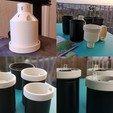 Descargar archivos STL gratis Campbell Planter - Totalmente 3D Impreso mismo-Riego Planter, wimlanz