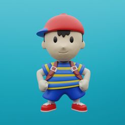 Download 3D printer designs EarthBound/Mother2 Ness Figure, CoseStraneShop