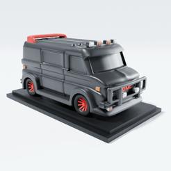 1G.png Download STL file A-Team van chibi 3D print model CHIBI PROJECT N2 • 3D printing template, CoseStraneShop