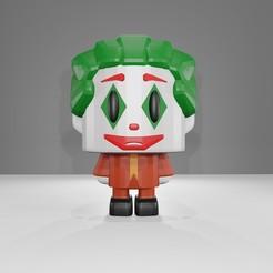 Télécharger fichier impression 3D Joker 2019 Todd Phillips (Ensemble LowFive), CoseStraneShop