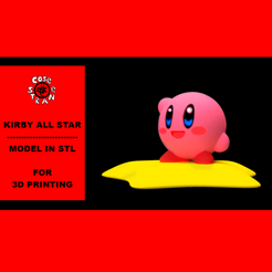 Plan imprimante 3D KIRBY ALL STAR, CoseStraneShop