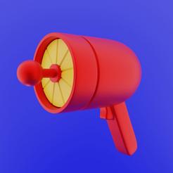 Download STL Earthworm Jim Gun props, CoseStraneShop