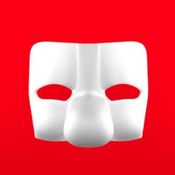 Descargar modelo 3D Máscara estilo italiano. pagliaccio, CoseStraneShop
