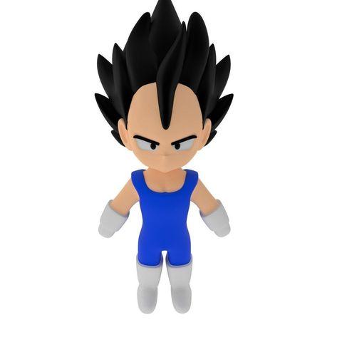Download free STL files Dragonball Vegeta Chibi version , CoseStraneShop