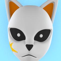Download STL files Demon Slayer Sabito mask, CoseStraneShop