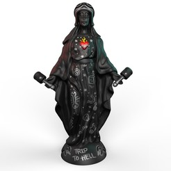 Imprimir en 3D Virgin Mary (Trip to Hell), Williamvel