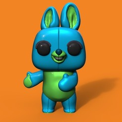 Download 3D printer designs Bunny Funko, Williamvel