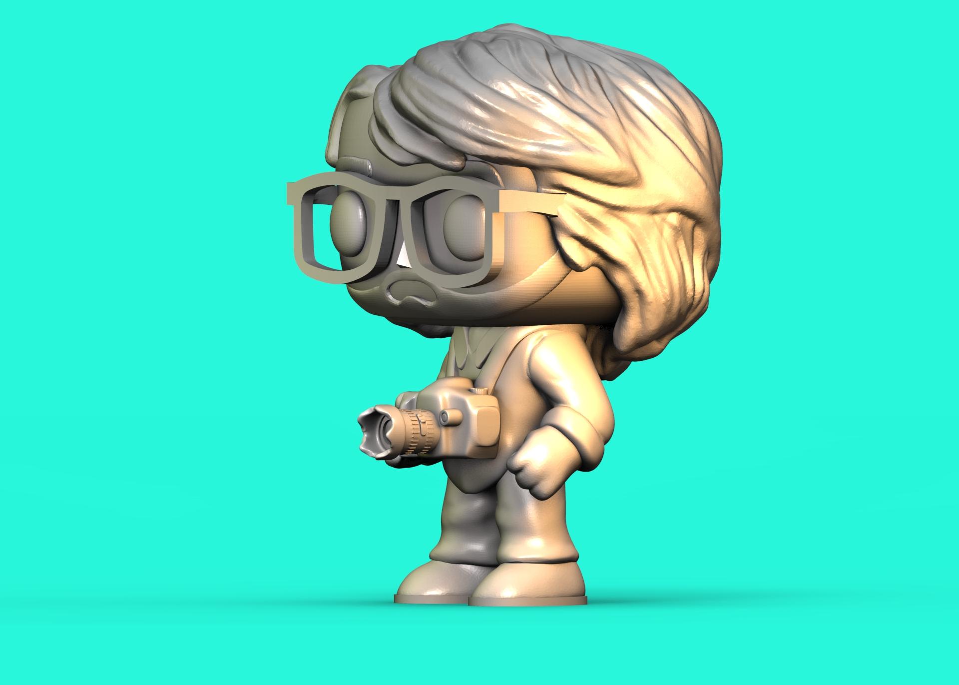 untitled.44.jpg Télécharger fichier STL Funko Photographe • Design pour impression 3D, Williamvel