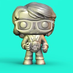 Download 3D printing models Funko Photographer, Williamvel