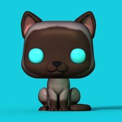gato2.jpg Télécharger fichier STL Chat Funko • Modèle à imprimer en 3D, Williamvel