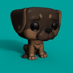 Descargar diseños 3D Funko dog, Williamvel