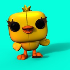 3D printing model Ducky Funko, Williamvel