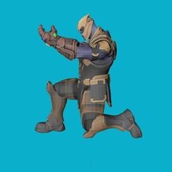 Descargar modelos 3D para imprimir Bolígrafo de pie Thanos, kike75