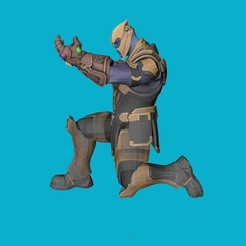 Download free 3D print files Thanos stand pen, kike75