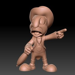 Download free STL file Pinocchio Jiminy • 3D print model, kike75