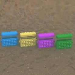 Descargar archivos STL Bolsa de playa impermeable, Bespoke3D
