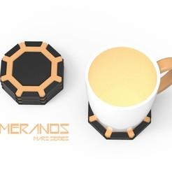 MERANOS 1.jpg Télécharger fichier OBJ MERANOS - SOUS-VERRE • Objet pour imprimante 3D, Queen3D