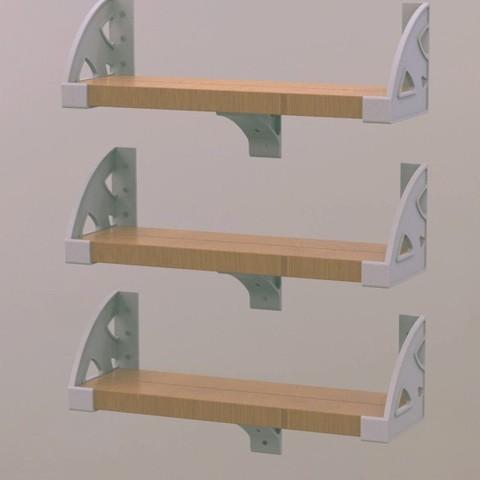 Télécharger fichier impression 3D Étagères de bricolage Supports de bricolage, Bespoke3D