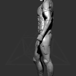 Download 3D print files Grey Fox - Metal Gear Solid, lucasurielabate