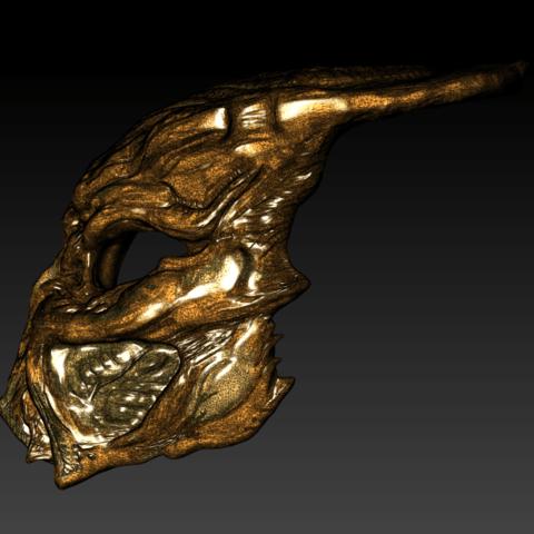 3D printer files Ceremonial Predator Mask, lucasurielabate