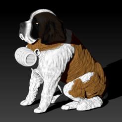Download 3D print files San Bernardo Bariloche Dog, lucasurielabate