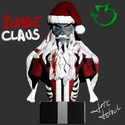 ZC portada.jpg Télécharger fichier STL Zombie Claus • Objet imprimable en 3D, lucasurielabate