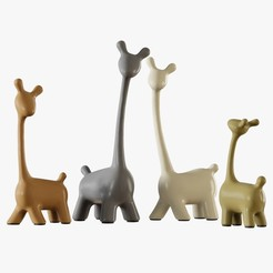 Download 3D printing files Figurines a family of deer 3D model, RShoD
