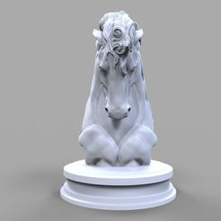 Download STL Torso of a horse 3D print model, RShoD