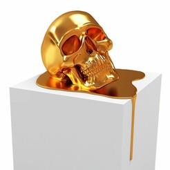 3-d-model-art-scull-3d-model-max-obj-mtl-fbx-stl-wrl-wrz (1).jpg Download STL file 3D model Art scull 3D print model • 3D printing design, RShoD