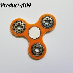 Download free 3D printer files Fidget Spinner, svensoni08