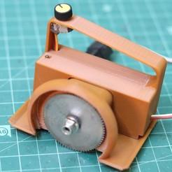 IMG_1432.JPG Download STL file 3D Printed Mini Powerful PCB Cutter • 3D printable object, svensoni08